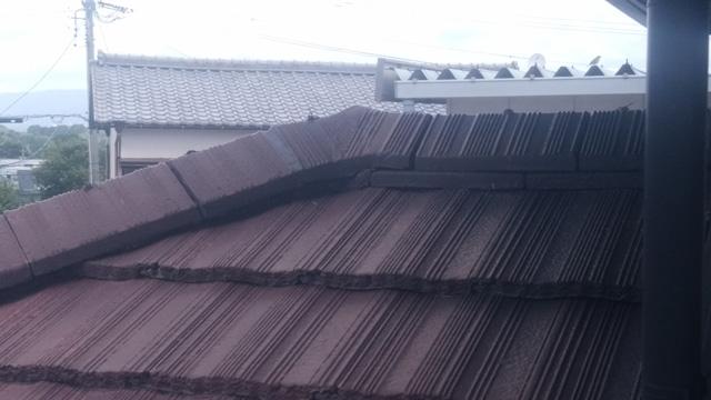 屋根 リフォーム前